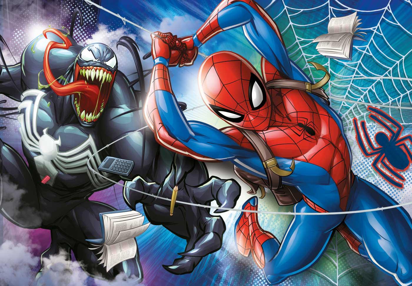 Puzzle Clementoni Spiderman VS Venom de 104 Piezas