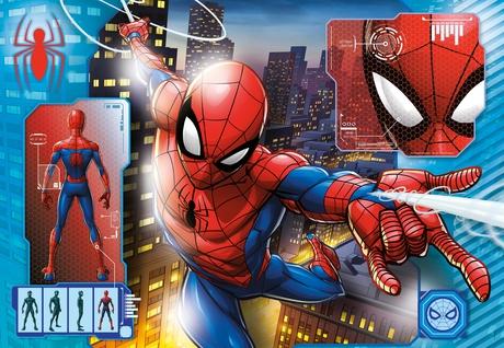 Puzzle Clementoni Spiderman de 104 Piezas
