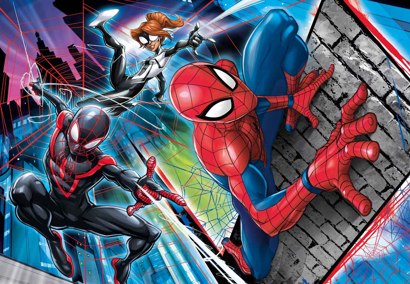 Puzzle Clementoni Spiderman de 180 Piezas