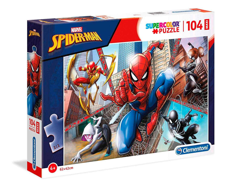Puzzle Clementoni Spiderman Maxi 104 Piezas