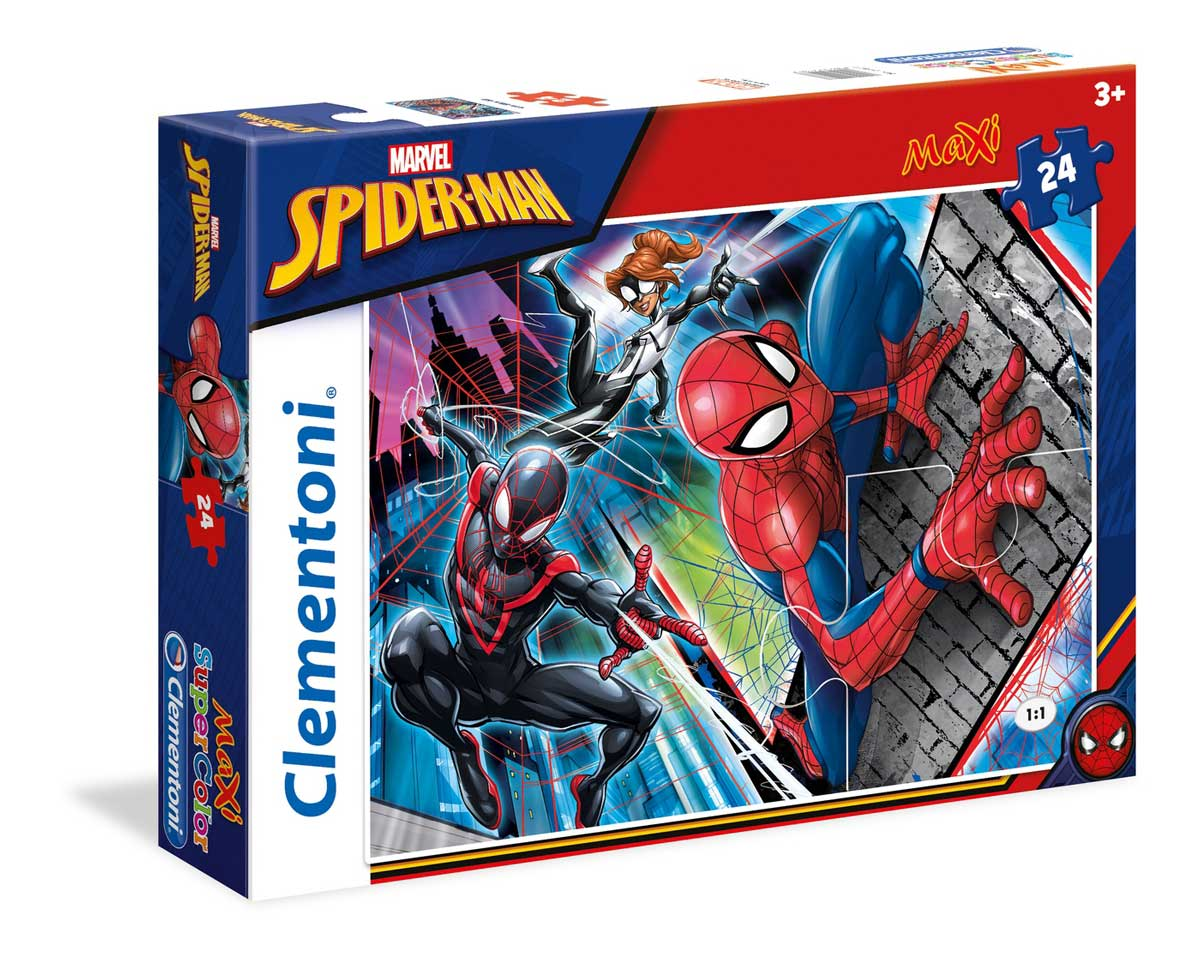 Puzzle Clementoni Spiderman Maxi 24 Piezas
