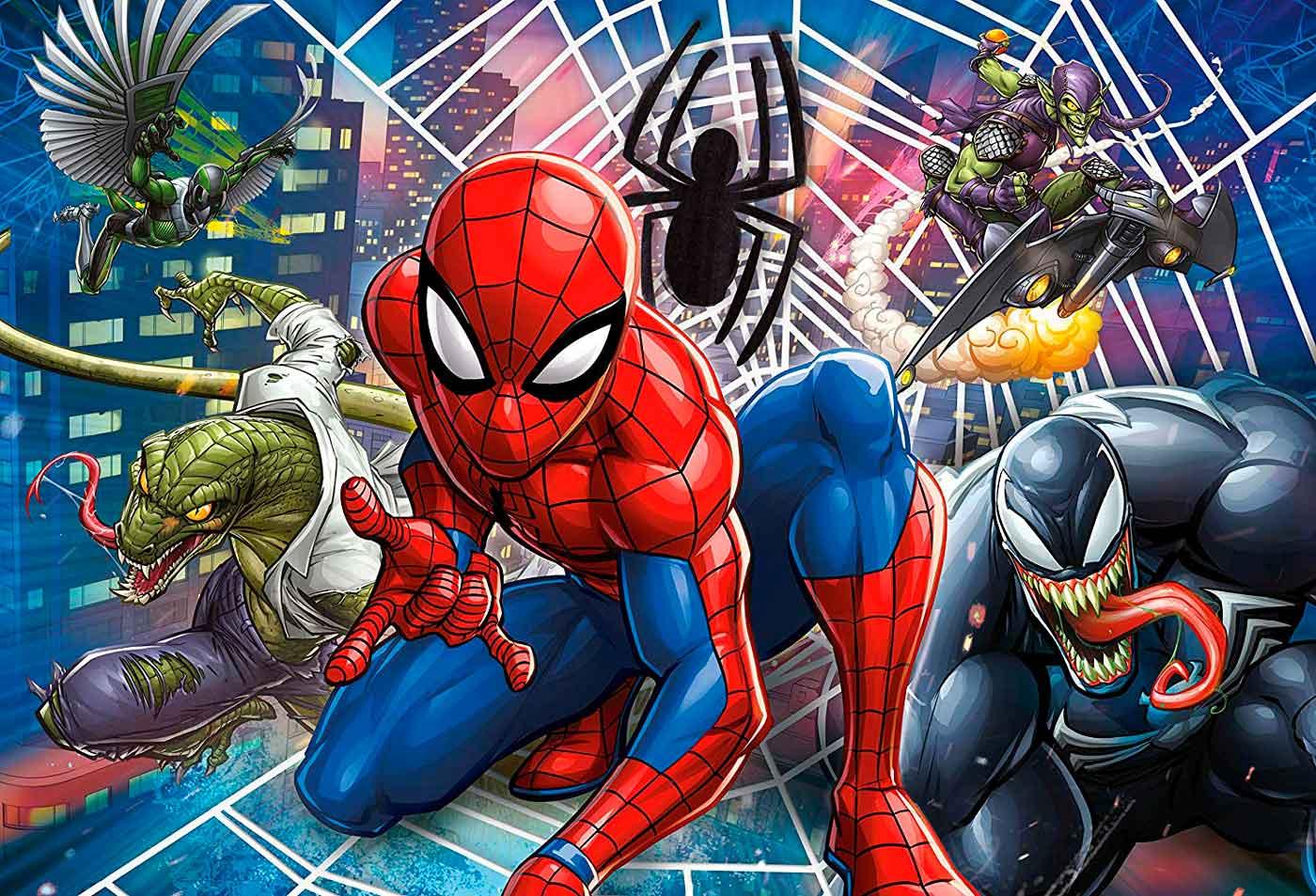 Puzzle Clementoni Spiderman Maxi 60 Piezas