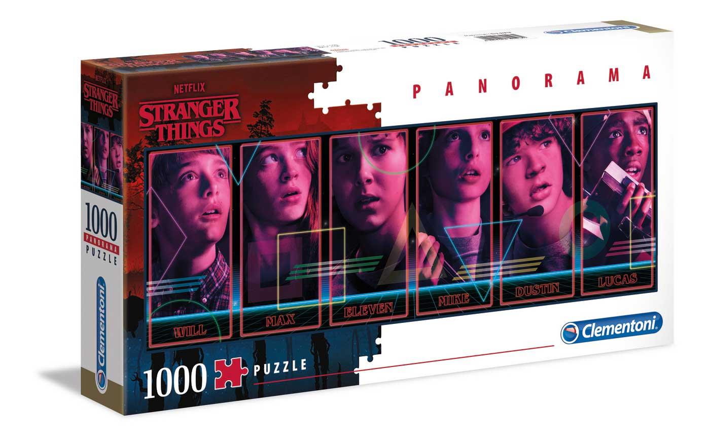 Puzzle Clementoni Stranger Things Panorama de 1000 Pzs