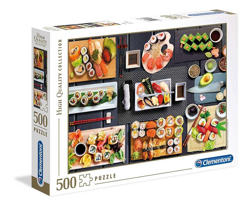 Puzzle Clementoni Sushi de 500 Piezas