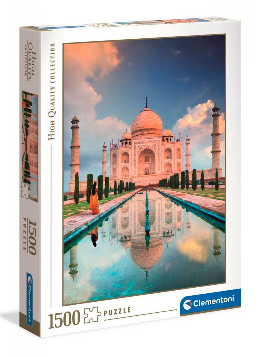 Puzzle Clementoni Taj Mahal de 1500 Piezas