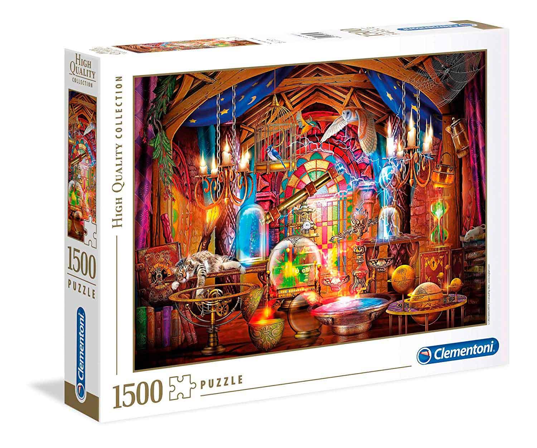 Puzzle Clementoni Taller de Magos de 1500 Piezas