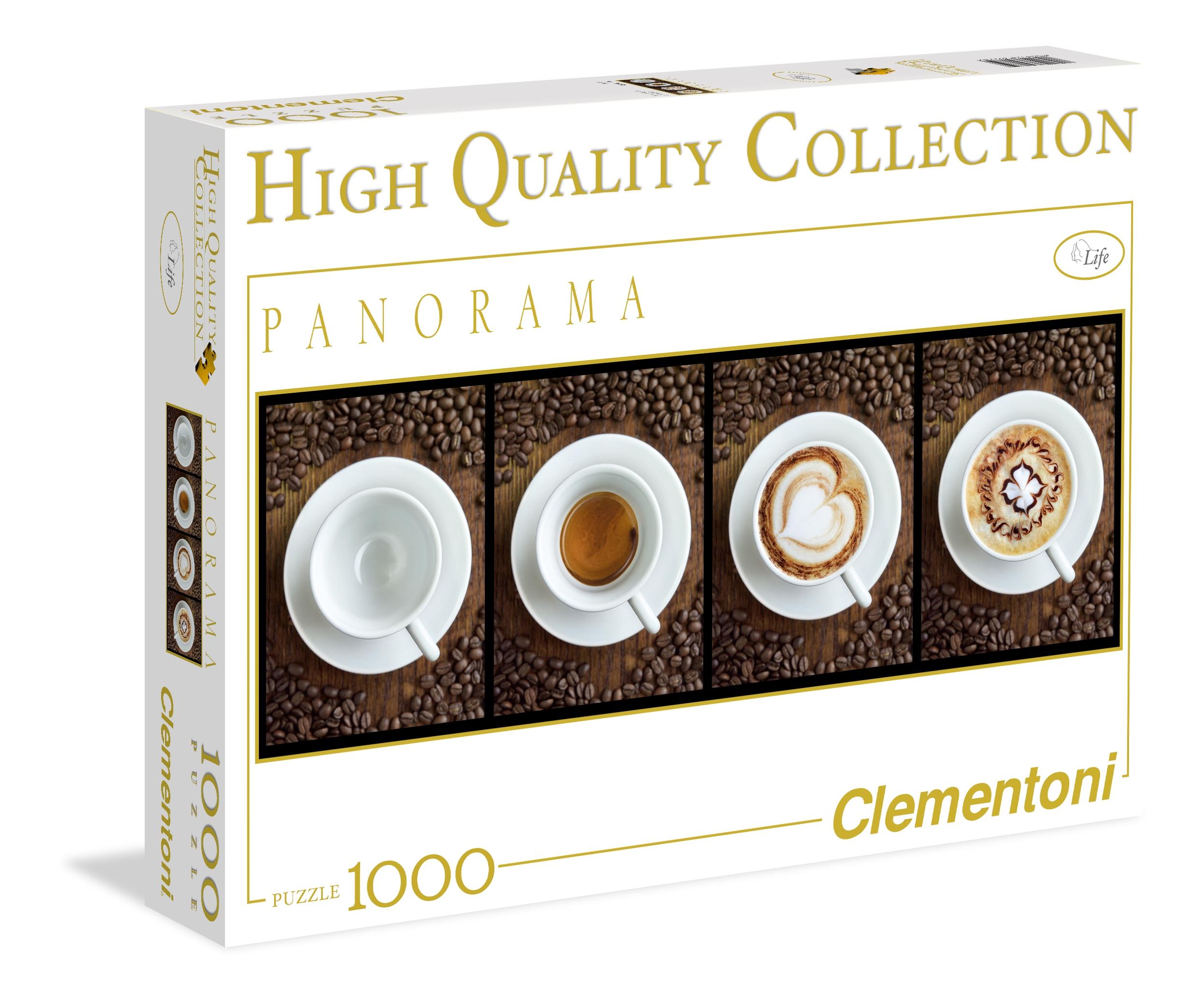 Puzzle Clementoni Tazas de Café de 1000 Piezas