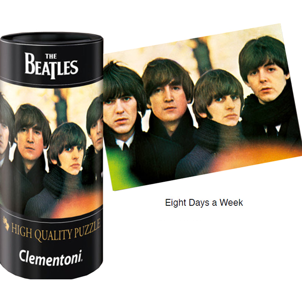Puzzle Clementoni The Beatles, Eight Days a Week de 500 Piezas