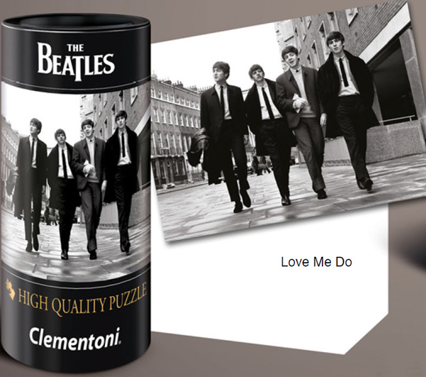 Puzzle Clementoni The Beatles, Love Me Do de 500 Piezas