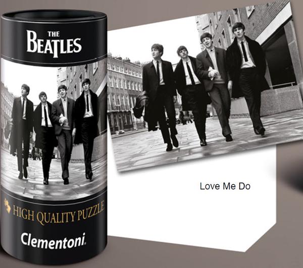 Puzzle Clementoni The Beatles, Love Me Do de 500 Piezas