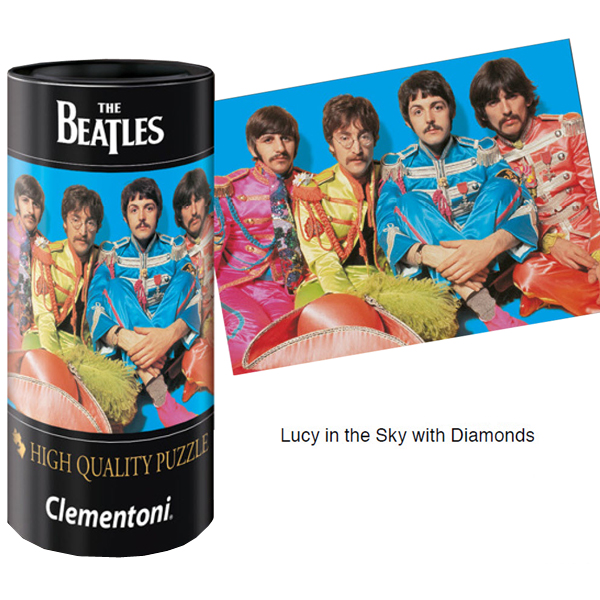Puzzle Clementoni The Beatles, Lucy in the with Diamonds de 500