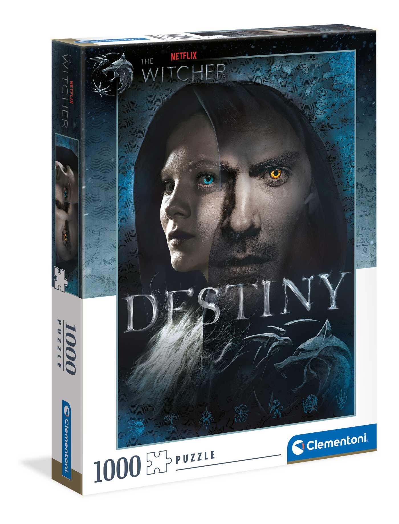 Puzzle Clementoni The Witcher Destiny de 1000 Piezas