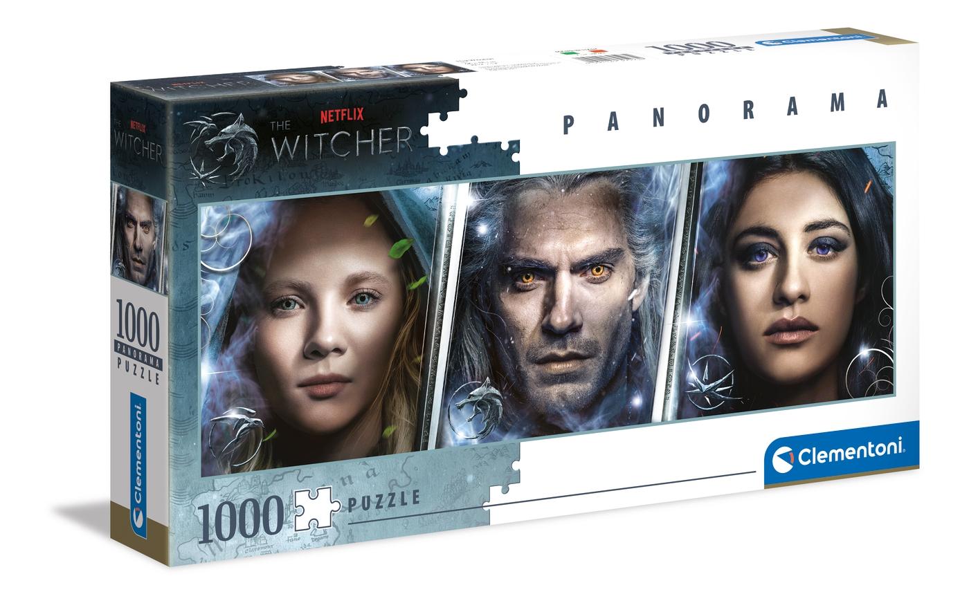 Puzzle Clementoni The Witcher Panorama de 1000 Piezas