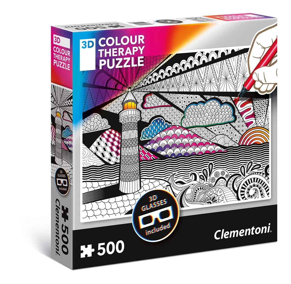 Puzzle Clementoni THERAPY El Faro de 500 Piezas