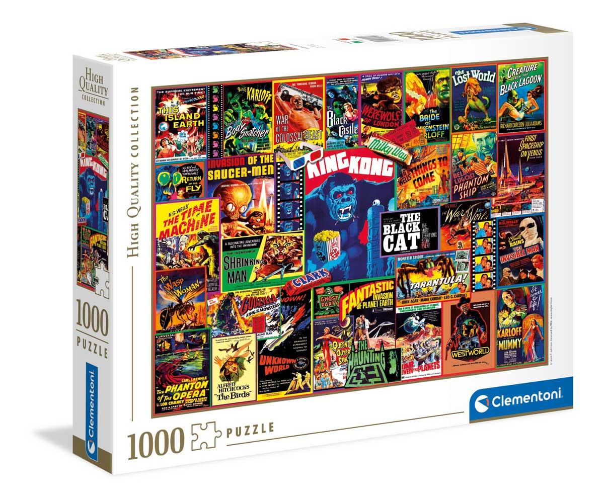 Puzzle Clementoni Thrillers Clásicos de 1000 Piezas