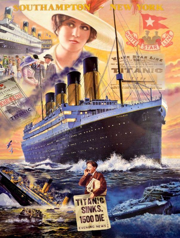 Puzzle Clementoni Titanic de 1000 Piezas