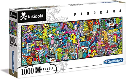 Puzzle Clementoni Tokidoki Panorama de 1000 Piezas