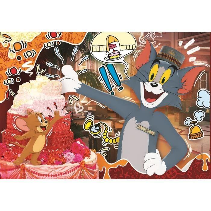 Puzzle Clementoni Tom y Jerry II de 104 Piezas