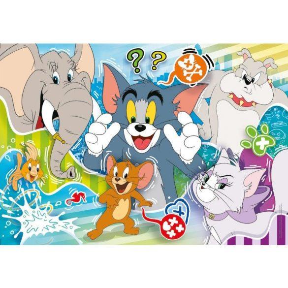 Puzzle Clementoni Tom y Jerry III de 104 Piezas