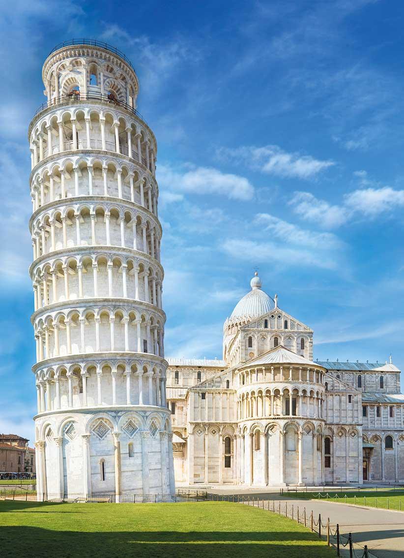 Puzzle Clementoni Torre de Pisa de 1000 Piezas