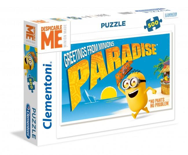 Puzzle Clementoni Vamos al Paraíso de 500 Piezas