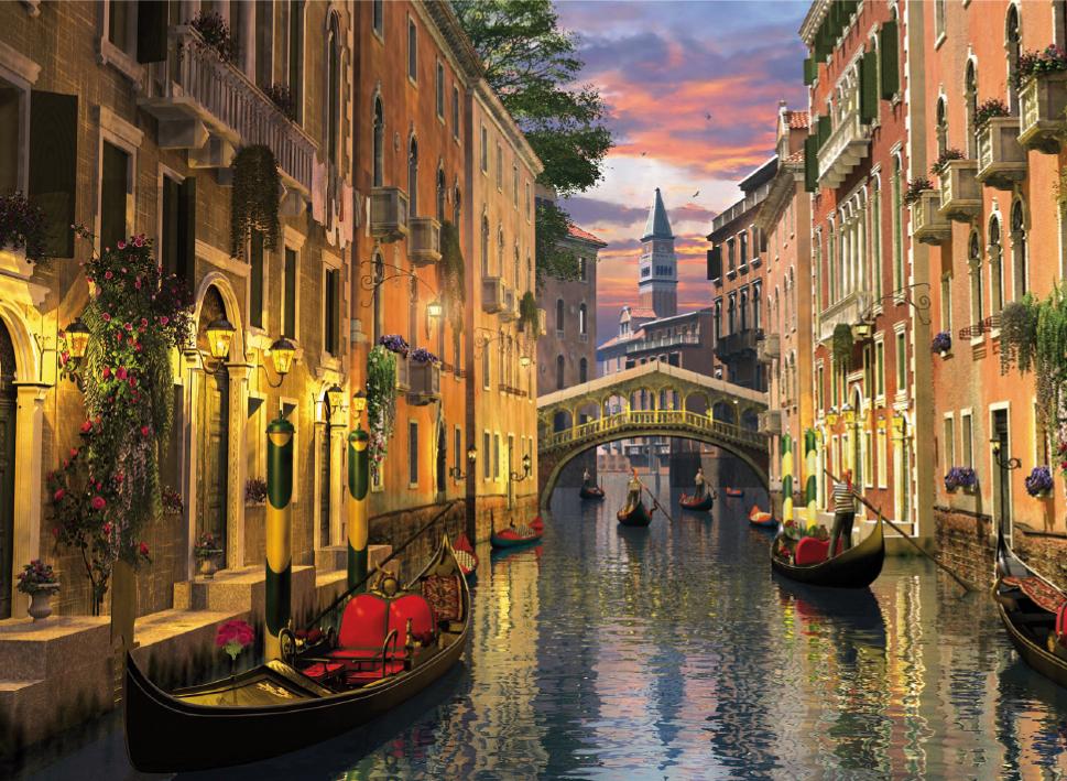 Puzzle Clementoni Venecia de 6000 Piezas