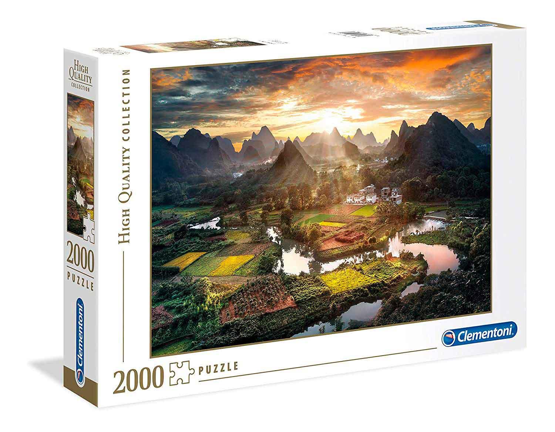 Puzzle Clementoni Vista de China de 2000 Piezas