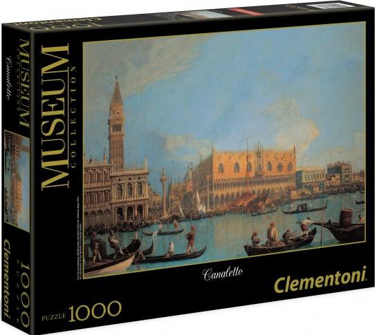 Puzzle Clementoni Vista del Canal de Venecia de 1000 Piezas