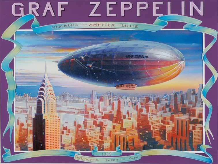 Puzzle Clementoni Zeppelin de 1000 Piezas