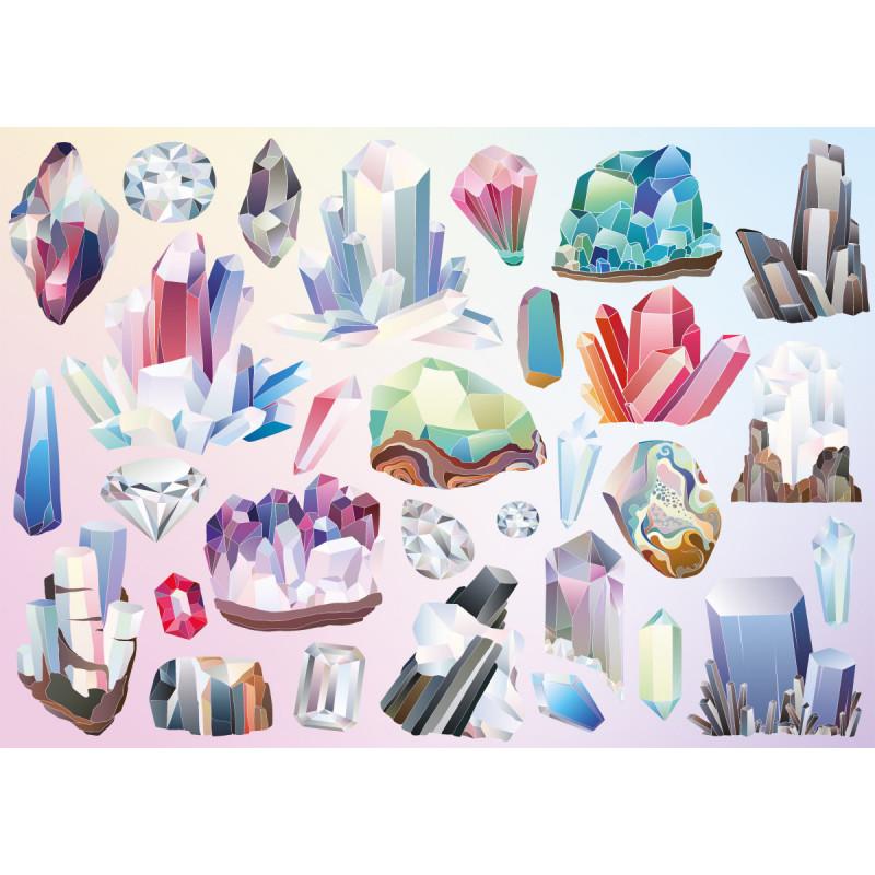 Puzzle Cloudberries Crystals de 1000 Piezas