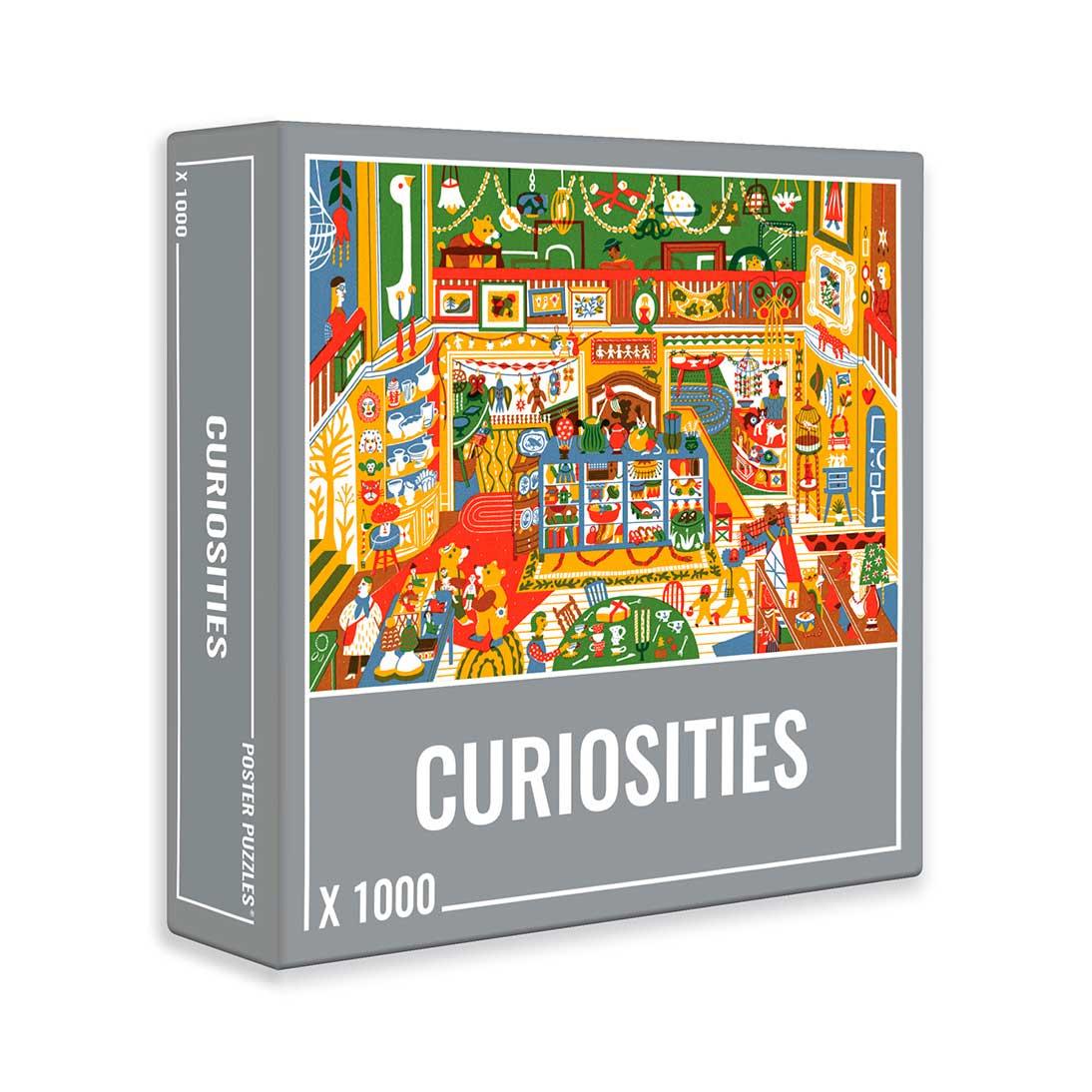 Puzzle Cloudberries Curiosities de 1000 Piezas