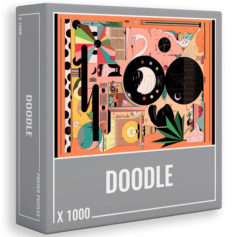 Puzzle Cloudberries Doodle de 1000 Piezas