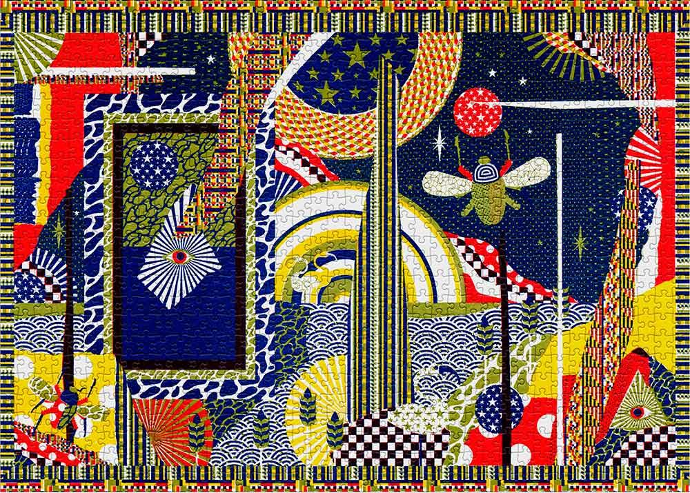 Puzzle Cloudberries Egyptology de 1000 Piezas