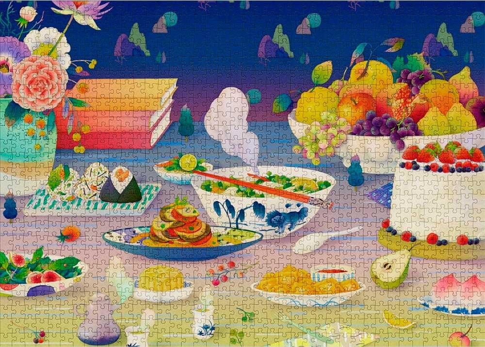 Puzzle Cloudberries Epicurean de 1000 Piezas