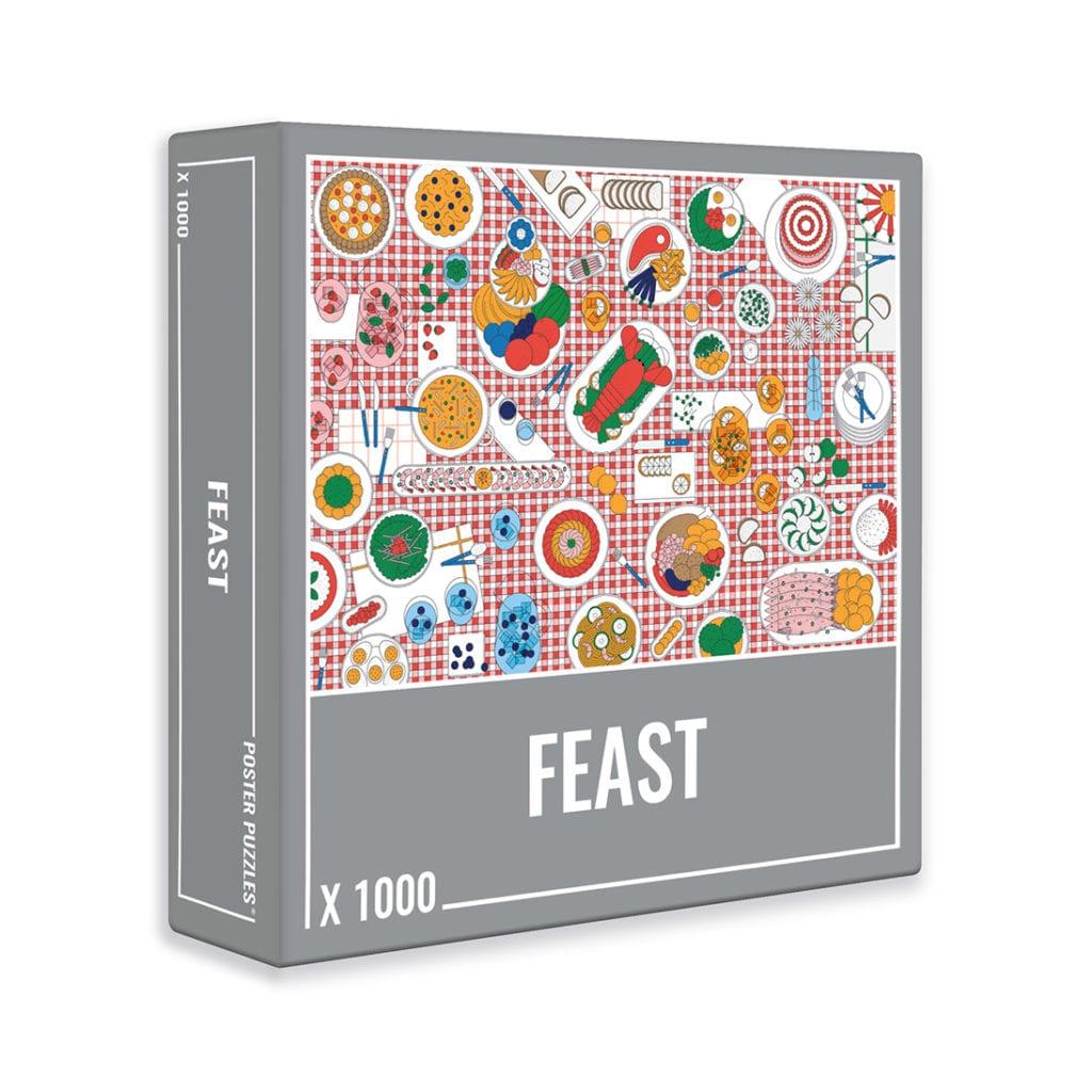 Puzzle Cloudberries Feast de 1000 Piezas