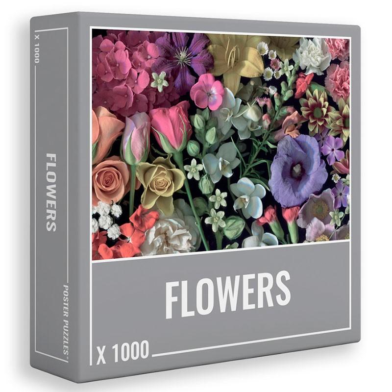Puzzle Cloudberries Flowers de 1000 Piezas