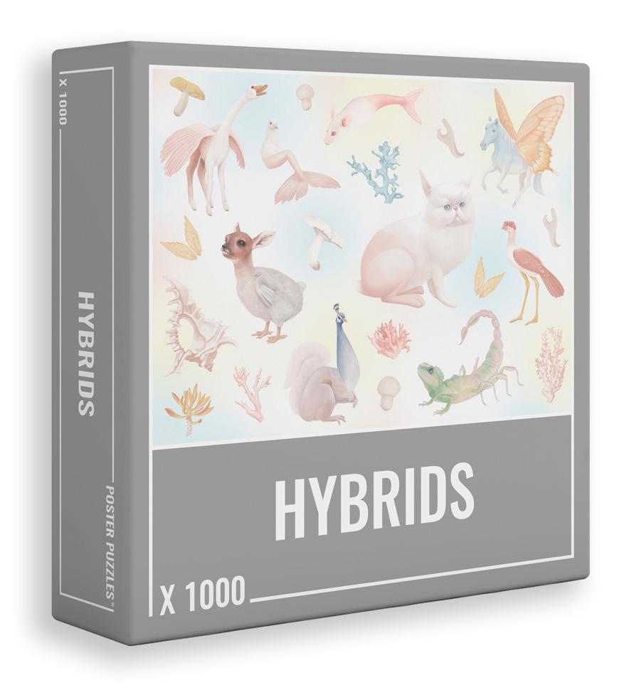 Puzzle Cloudberries Hybrids de 1000 Piezas