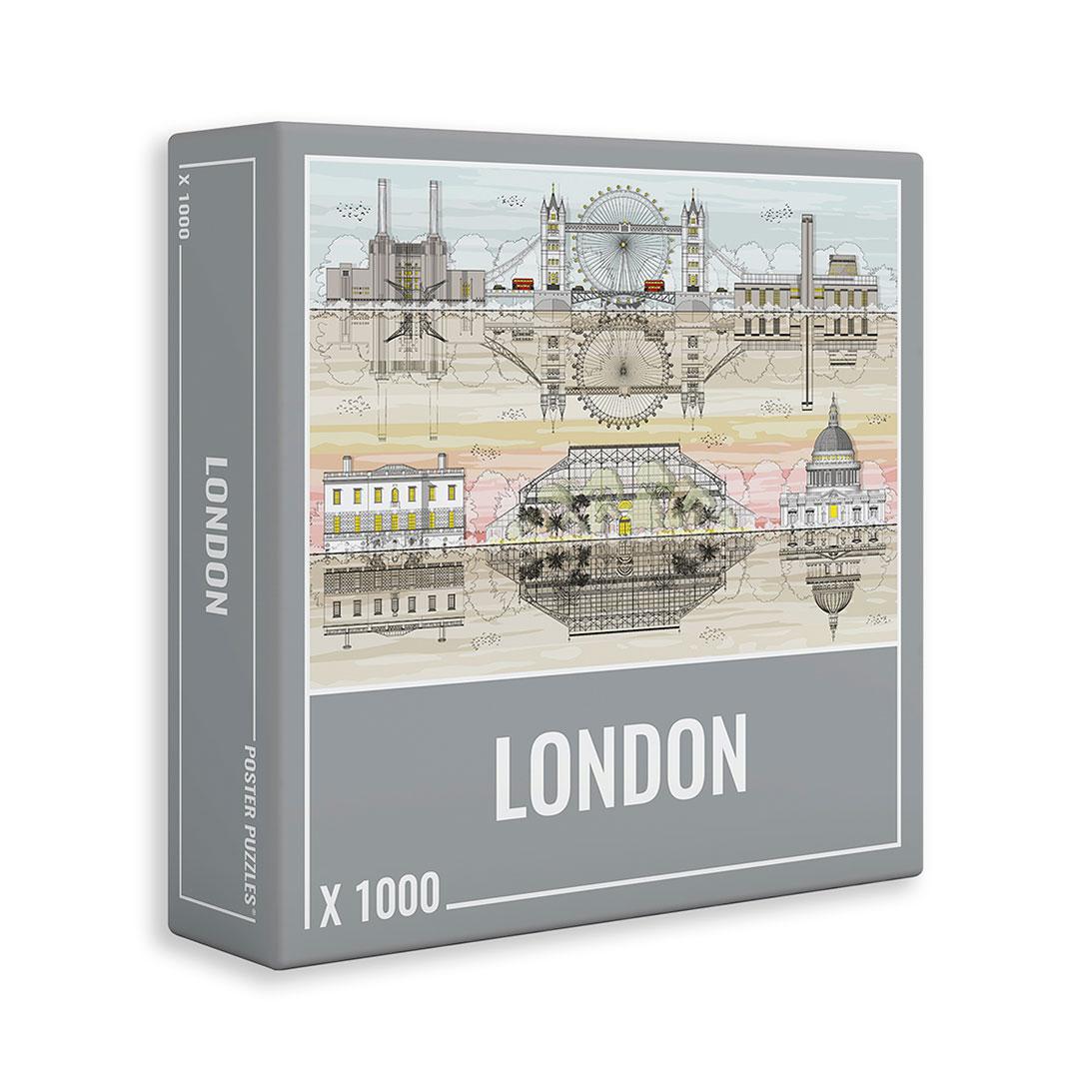 Puzzle Cloudberries London de 1000 Piezas