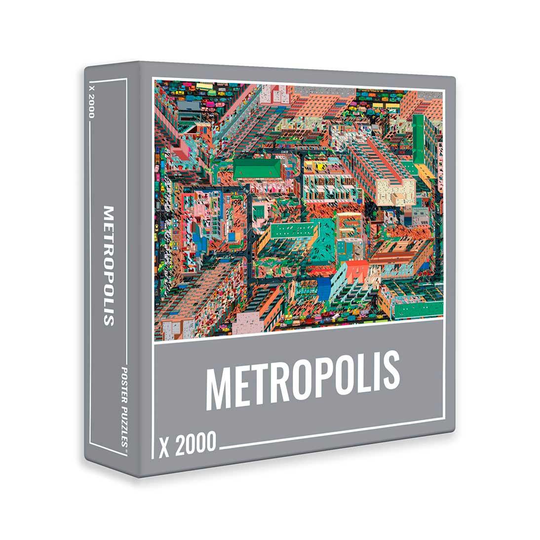 Puzzle Cloudberries Metropolis de 2000 Piezas