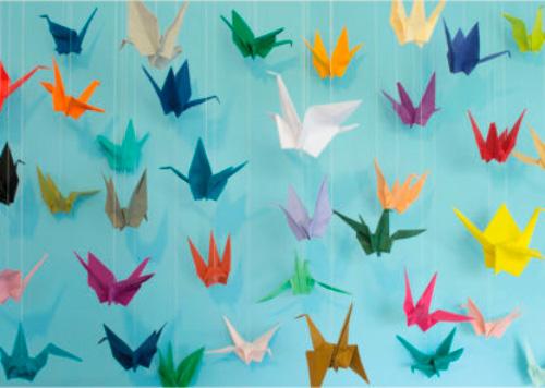 Puzzle Cloudberries Origami de 1000 Piezas