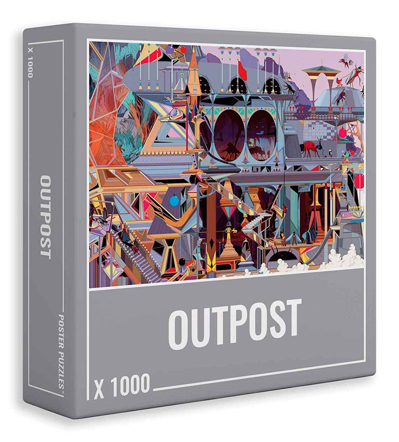 Puzzle Cloudberries Outpost de 1000 Piezas