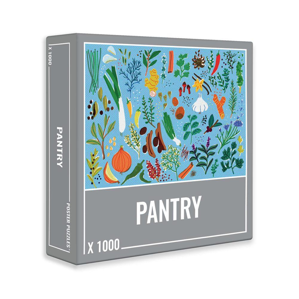 Puzzle Cloudberries Pantry de 1000 Piezas