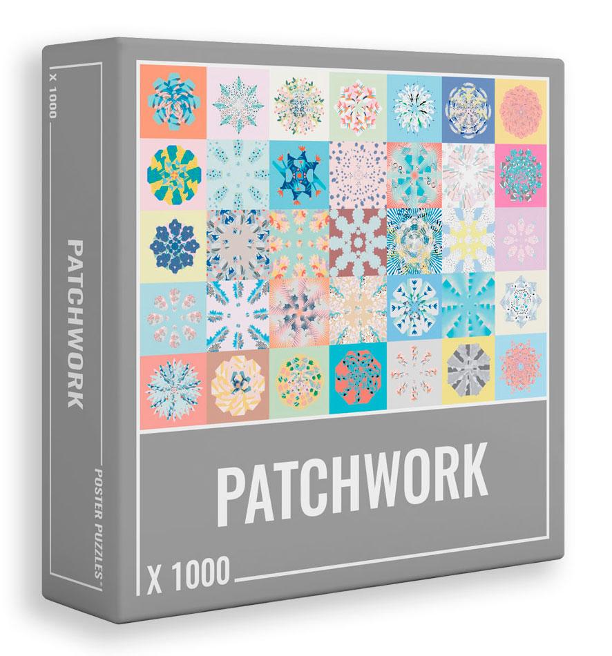 Puzzle Cloudberries Patchwork de 1000 Piezas