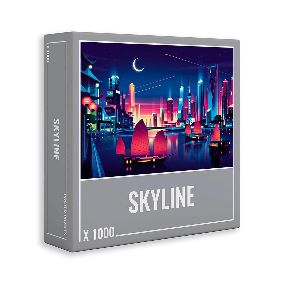Puzzle Cloudberries Skyline de 1000 Piezas