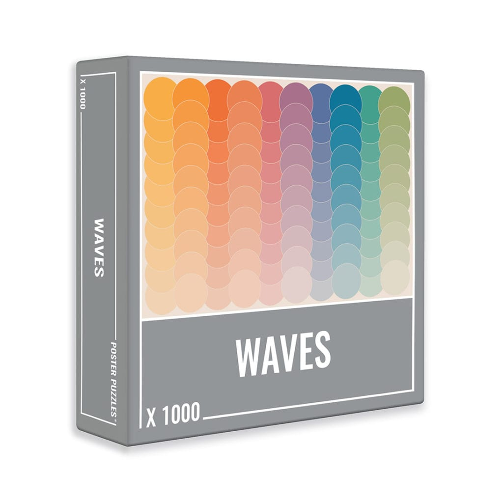 Puzzle Cloudberries Waves de 1000 Piezas