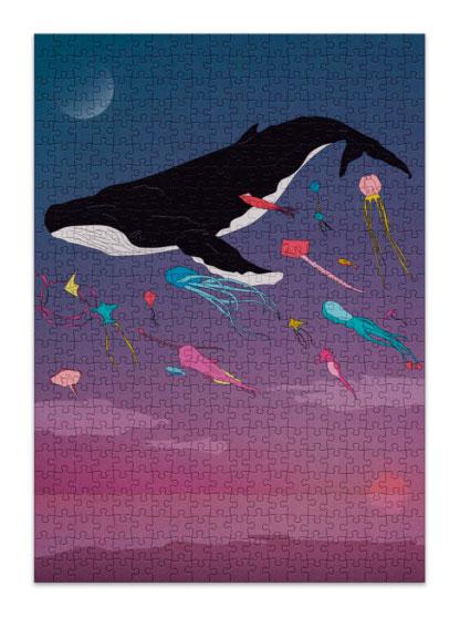 Puzzle Cloudberries Whale de 500 Piezas