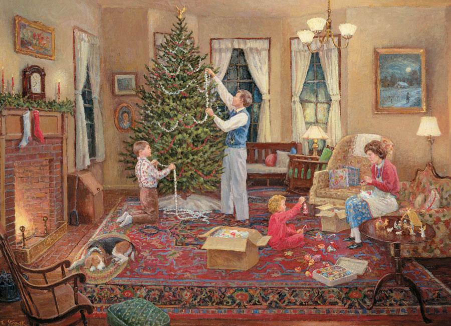 Puzzle Cobble Hill El Arbol de Navidad de 1000 Piezas