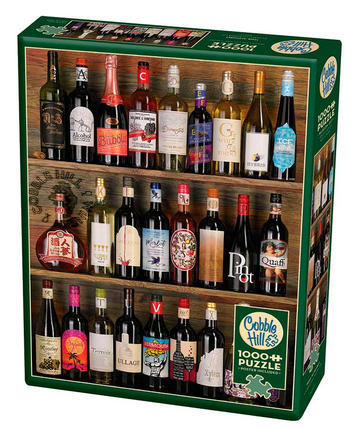 Puzzle Cobble Hill Alfabeto de Vinos de 1000 Piezas