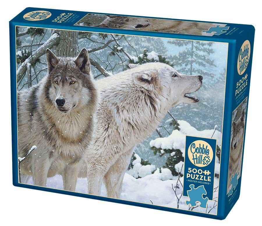Puzzle Cobble Hill Aliento de Invierno XXL de 500 Piezas