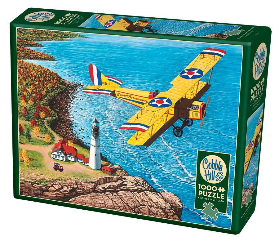 Puzzle Cobble Hill Avión Bennett Barnstorming de 1000 Piezas